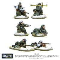 German Heer Panzerschreck, Flamethrower & Sniper Teams (Winter)