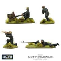 BUF Anti-Tank and Support Squads