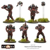 Algoryn Armoured Infantry Command Squad