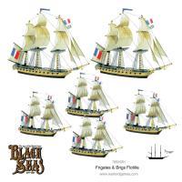 Frigates & Brigs Flotilla (1770-1830)