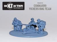 Commando Vickers MMG Team
