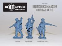 Commando Characters - Lord Lovat, Piper Bill Millin, & Brigadier Peter Young