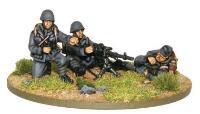 Italian Army Breda MMG Team
