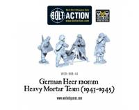 German Heer 120 Heavy Mortar