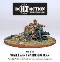 Soviet Army Maxim HMG Team