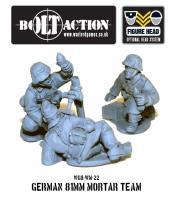 German Heer 81mm Mortar Team