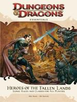 Heroes of the Fallen Lands - Clerics, Fighters, Rogues, and Wizards