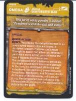 Gamma World - Omega Tech Item, Dehydrated Man Promo Card