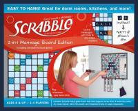 Scrabble 2-in-1 Message Board