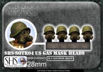 US Gas Mask Heads