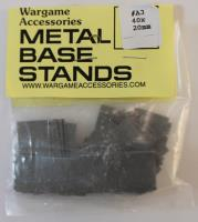 Metal Base Stand - 40mm x 20mm (40)