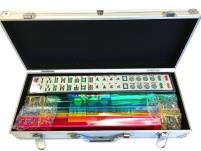 Mah-Jongg - Silver Aluminum Case