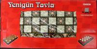 "14.5"" Pearl Mosaic Backgammon & Chessboard"