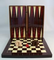 """19"""" Yenigun Tavla Backgammon Set"""
