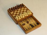 "7"" Chess & Backgammon Drawer"