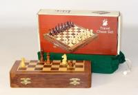 "10"" Folding Magnetic Chess Set"