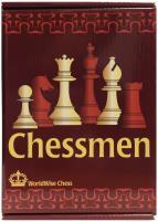 "4.25"" Black & Natural Boxwood Chessmen"
