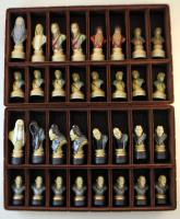 """4"""" Lord of the Rings Chessmen (Hand Painted Resin)"""