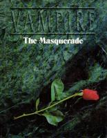 Vampire - The Masquerade (2nd Edition, 1st Printing)
