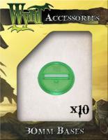 30mm Translucent Bases - Green