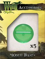 40mm Translucent Bases - Green
