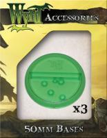 50mm Translucent Bases - Green