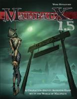 Malifaux - Core Rulebook (1.5 Edition)