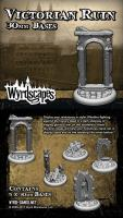 30mm Victorian Ruins Bases