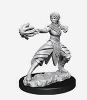 Half-Elf Female Monk