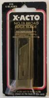 #19 Broad Edge Blade