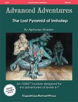 Lost Pyramid of Imhotep, The
