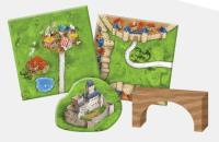 Carcassonne Expansion #8 - Bridges, Castles and Bazaars (2018 Edition)