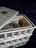 Apartment House w/Flat Roof - Ground Floor & Roof