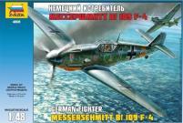 Messerschmitt Bf-109 F4 - German Fighter