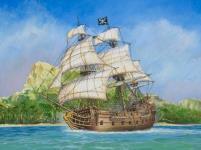 Pirate Ship - Black Swan