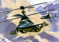 "Kamov KA-58 ""Black Ghost"" Stealth Helicopter"