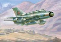 """MiG-21PF bis """"Lazur"""" Soviet Fighter"""