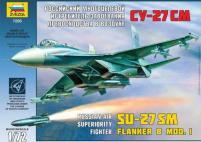 Russian SU-27 SM Flanker B Mod. 1