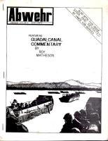 "#6 ""Syria 1941 Revisited, Guadalcanal"""