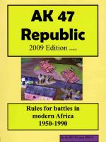 AK47 Republic (2009 Edition)