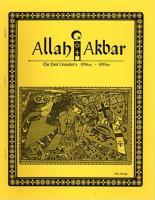 Allah Akbar - The First Crusaders 1096-1099 AD