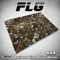 6' x 4' - Ancient Alien Ruins, Winter