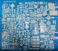 Barrowmaze Poster Map