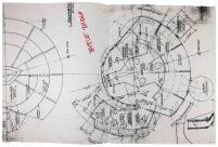 Star Trek the Next Generation Construction Blueprints - Battle Bridge - Official Photocopies