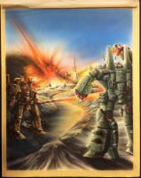 Battledroids Original Back Cover Art