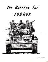 Battles for Tobruk, The