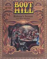 "TSR Boot Hill Referee's Screen - 13"" x 17"" Original Painting"