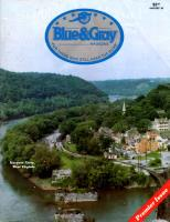 """Vol. 1, #1 """"ESCAPE! Confederate General John Hunt Morgan's escape from the Ohio Penitentiary in 1963, Their Name Lives On, The General's Tour Guide - Harper's Ferry"""""""