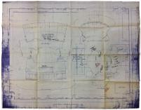 Star Trek the Next Generation Construction Blueprints - Main Bridge, Conference Room & Ten Forward - Official Photocopies