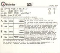 British AFV Cards - Complete Set
